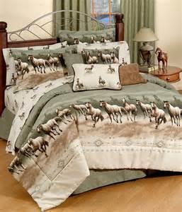 Toddler Bed Set Horses Kmhsssk Horse Stampede Western Sheet Set King
