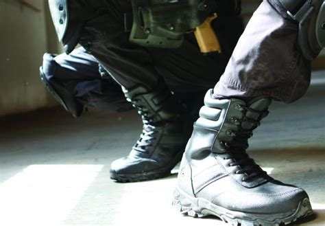 Most Comfortable And Durable Police Boots Authorized Boots