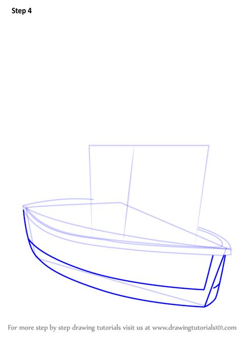 boat cartoon step by step learn how to draw charlie jones boat from fireman sam