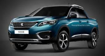 Peugeot Truck New Peugeot 5008 Dreams Of The Countryside In Form
