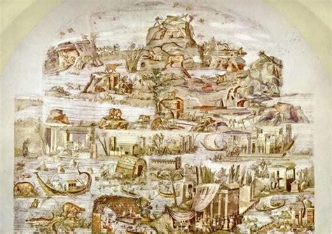 di palestrina calandra e il restauro mosaico nilotico di