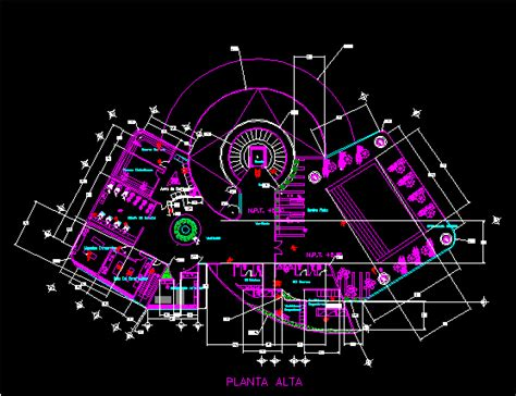 Floor Plan With Electrical Symbols spa 2d dwg design block for autocad designs cad