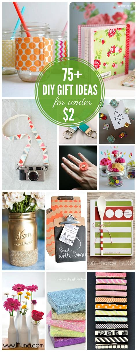 Cheap Handmade Gifts - inexpensive gift ideas