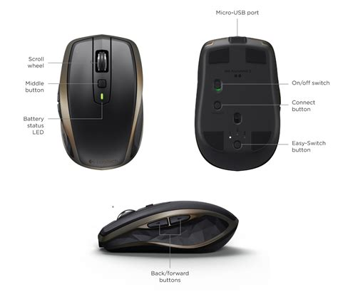 Logitech Anywhere Mouse Mx logitech anywhere 2 wireless mouse setup guide