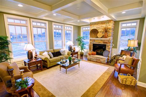 interior of homes pictures interior photos of the cottage and towne model homes venango trails
