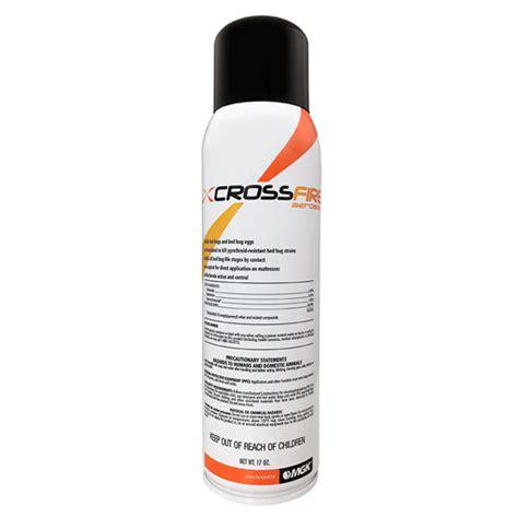 bed bug spray reviews crossfire aerosol bed bug spray review