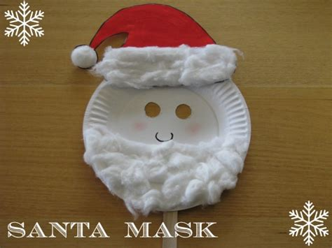 How To Make Santa Out Of Paper - printable santa mask new calendar template site