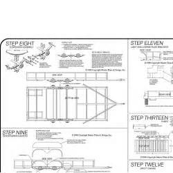 16 Lowboy Trailer Plans Blueprints Model 1216 Inside View Masterplans Designs Johnson Trailer Parts utility trailer wiring 14 on utility trailer wiring