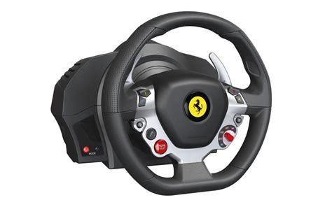thrustmaster announces xbox one 458 italia racing