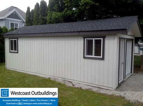 Shed Bc by 12 X 28 Surrey Modular Storage Garage Westcoast Outbuildings