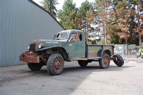 Broken Glass Repair alaska forest truck 1960 dodge power wagon