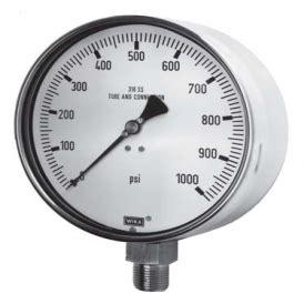 Wika Pressure 232 50 100 Range 600 Bar 2nd Scale Psi 232 50 wika 綷 綷 綷