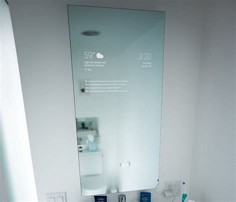 smart bathroom mirror smart bathroom mirror
