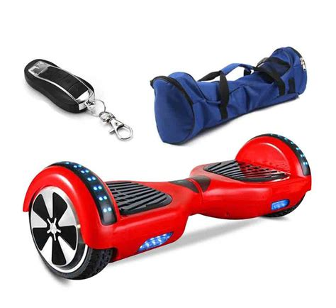 hoverboard with bluetooth and lights 6 5 inch hoverboard with led light remote control bag