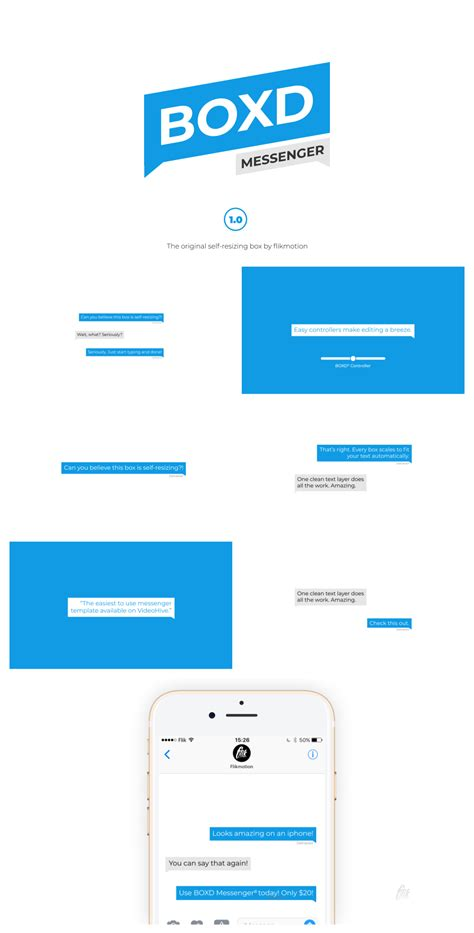 Text Message By Flikmotion Videohive Text Message Premiere Pro Template