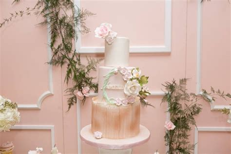 Garden Themed Baby Shower Cakes by Blush Garden Themed Baby Shower Pretty My