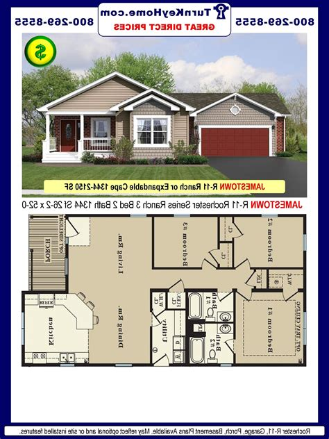 free ranch house plans