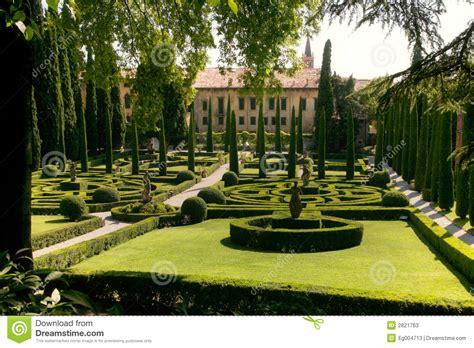 villa giusti giardino giardino giusti stock image image of backdrop giardino