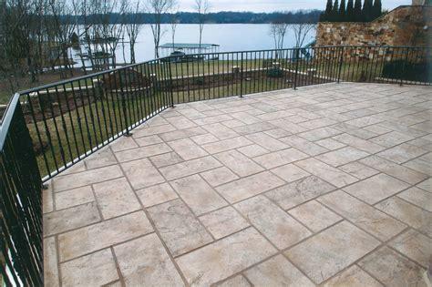 decorative concrete resurfacing  sundek overlays