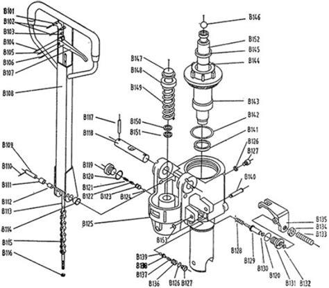 pallet parts diagram pallet spare truck parts w ltd bf pallet truck
