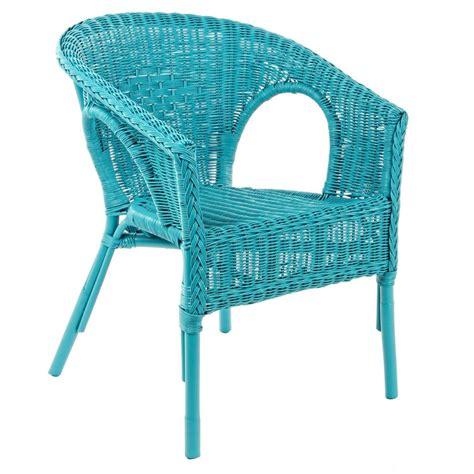 poltrone da giardino in rattan poltrona azzurra in rattan mobili etnici provenzali