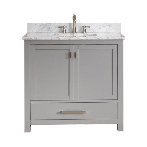 bathroom vanities lowes canada avanity modero v36 modero 36 in bathroom vanity only