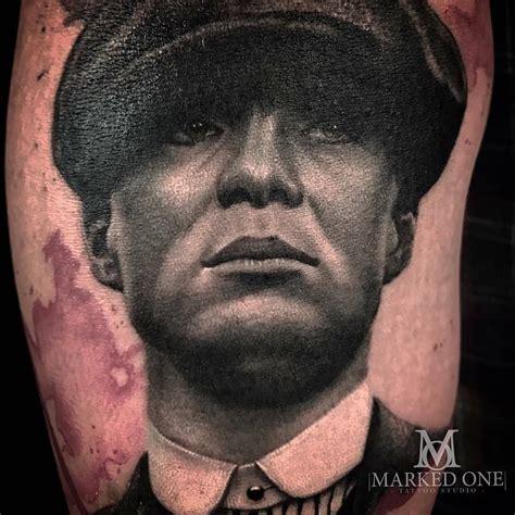 thomas shelby peaky blinders tattoo close up thomas shelby cillian murphy from peaky