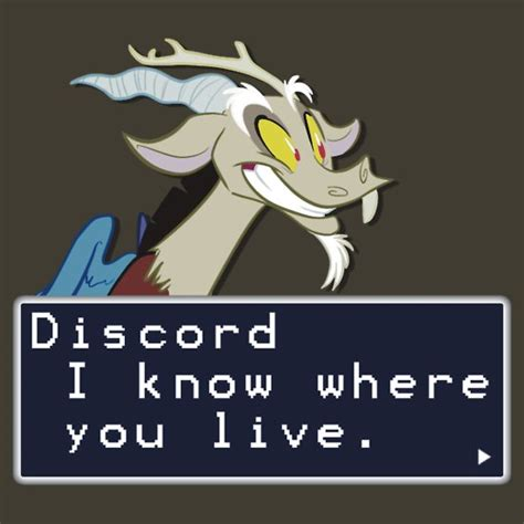 Discord How To Quote | quot my little pony discord quote shirt quot t shirts hoodies by