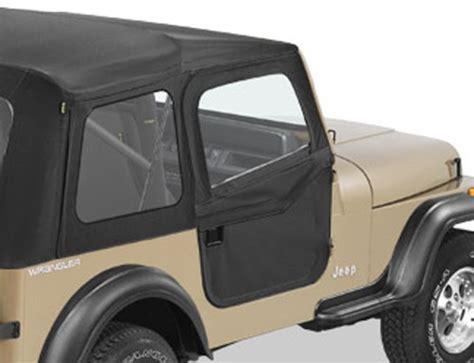 Jeep Wrangler Soft Doors Bestop 2 Soft Doors For Jeep Cj 7 Wrangler 1980