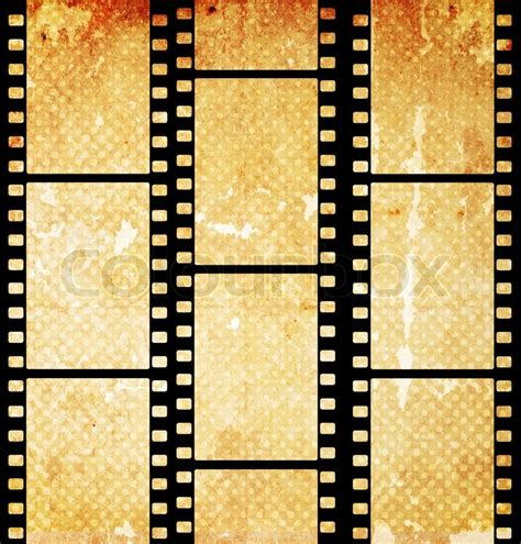 aged wallpaper with film strip border stock illustration vintage background with film flame stock photo colourbox