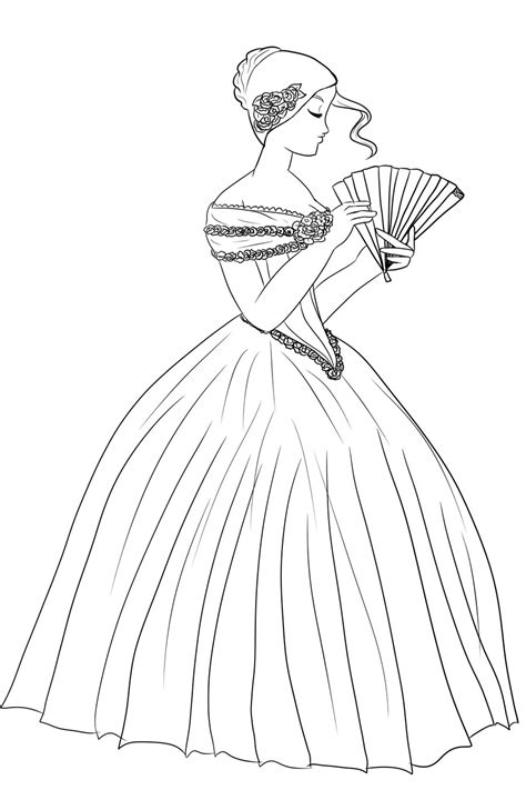 free colouring pages victorians victorian colouring pages