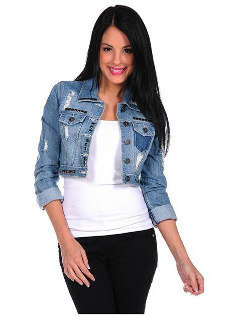 Cropped Jacket cropped jean jacket coat nj