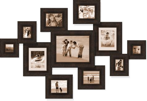 how to make a collage picture frame a collage in your house in decors