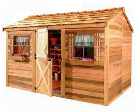 cedarshed cabana  shed cb  shipping