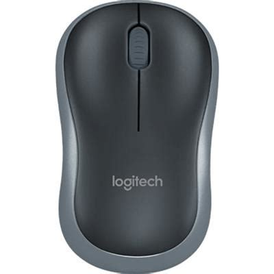 Mouse Logitech Wireless M185 Grey Blue logitech m185 wireless mouse grey jb hi fi
