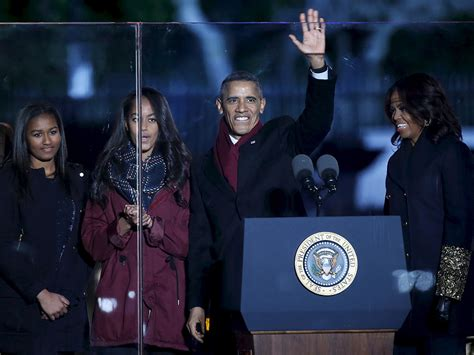obama tree lighting obama family and reese witherspoon headline national