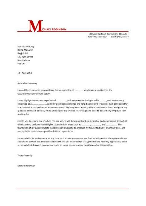cover letter template word  cover letter template