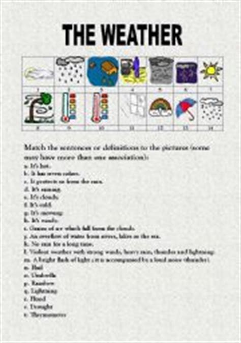 Weather And Climate Worksheets by Weather And Climate Worksheets For Grade 5 Deployday
