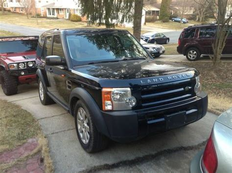 custom land rover lr3 sell used 2006 land rover lr3 se suv 4 4l custom two tone