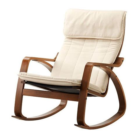 poang rocking chair cover ikea poang rocking chair medium brown with cushion