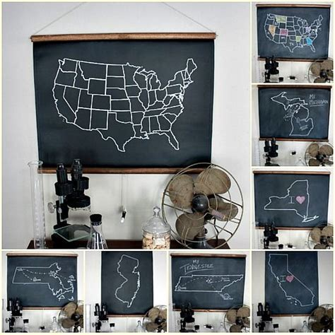 chalkboard paint ontario chalkboard maps to document your cer travels use
