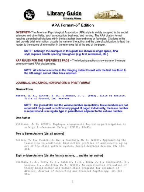 contoh format daftar pustaka apa apa style format daftar pustaka pdf citation digital