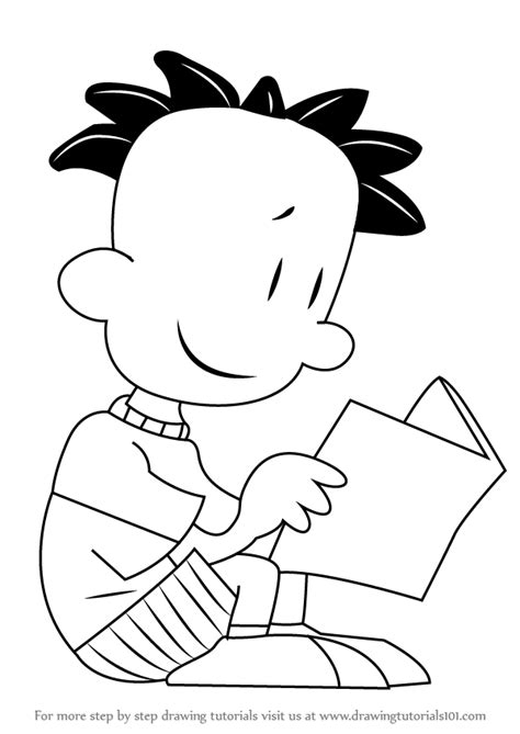learn how to draw nate wright from big nate big nate