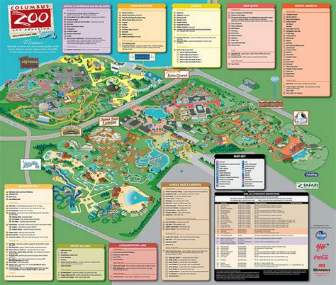 columbus zoo map columbus zoo map explore lindasomerville rogers s phot flickr photo