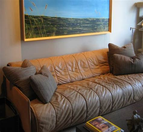 taking care of leather sofa how to take care of leather furniture freshome com