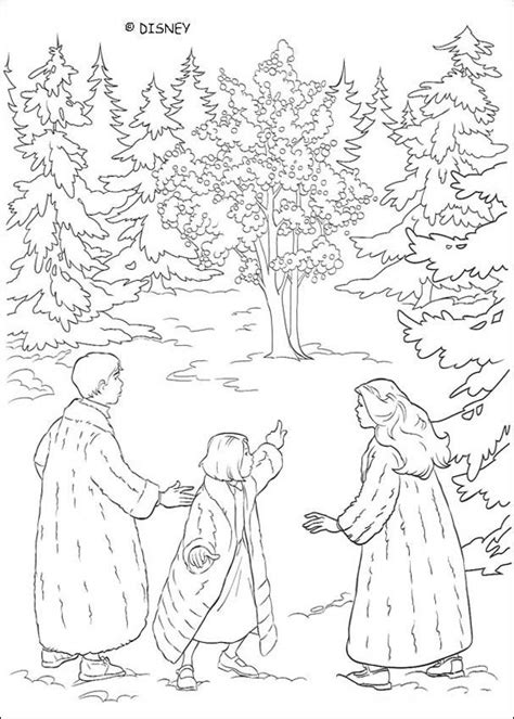 The Chronicles Of Narnia Coloring Book Pages Narnia Narnia Colouring Pages