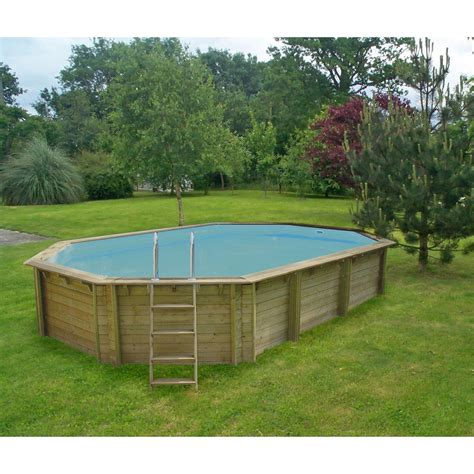 Impressionnant Piscine Bois Leroy Merlin Hors Sol #2: Piscine-hors-sol-bois-weva-proswell-l-6-4-x-l-4-x-h-1-46-m.jpg