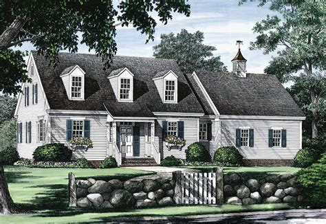 cape cod cottage plans cape cod with open floor plan 32435wp architectural designs house plans