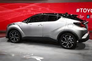 Toyota c hr qashqai fighter s high tech interior revealed evo