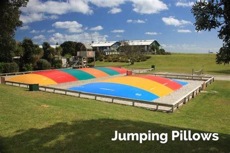 Jumping Pillows Nz by Playground Picture Of Papamoa Resort Papamoa